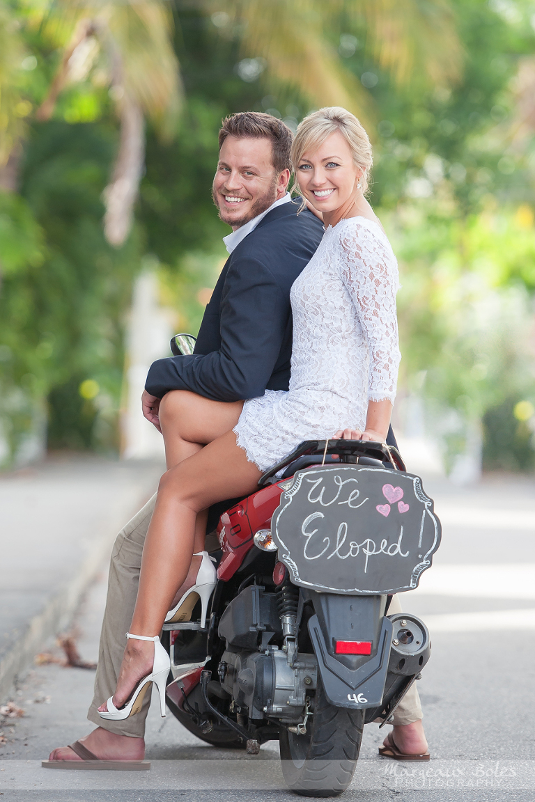 Danielle And Brian Elope Key West Florida Wedding Photographer
